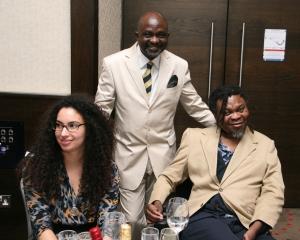 Sophie, Sunny and Yinka Shonibare MBE