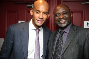 Sunny and Rt. Hon. Chuka Umunna MP, Shadow Business Secretary